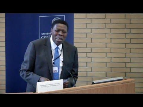 Eugene Wamalwa, Cabinet Secretary, Ministry of Water and Irrigation, Kenya | Water Security 2015