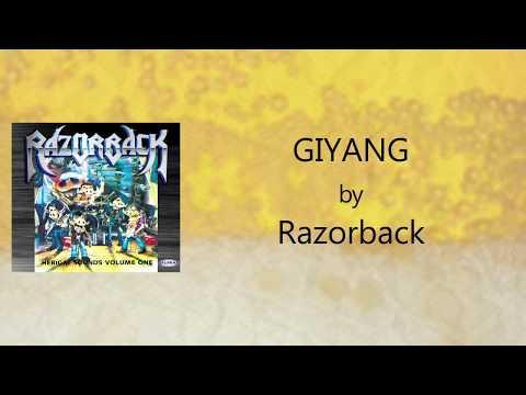 Razorback - Giyang (Lyrics Video)
