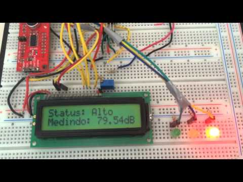 Sound Level Meter IoT using ESP8266, SparkFun Sound Detector and Arduino