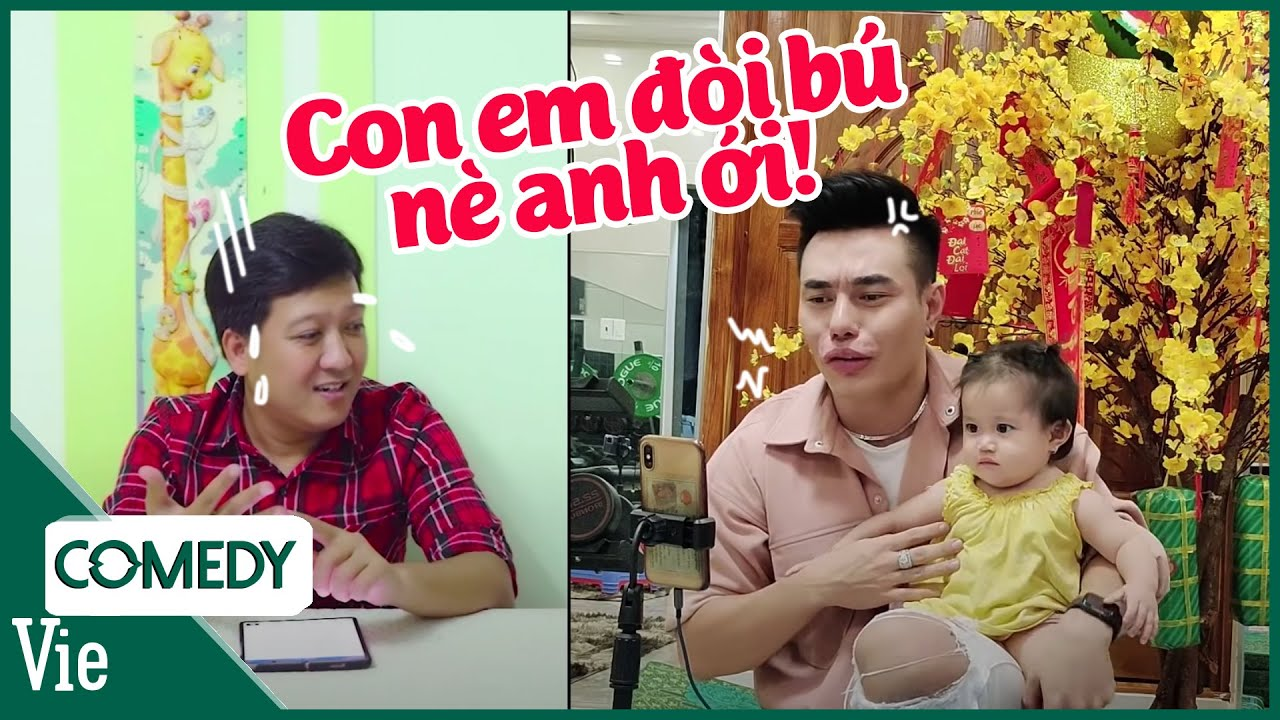 Dương Lâm hối Trường Giang thi lẹ để cho con bú | Nhanh Như Chớp Version Giãn cách xã hội