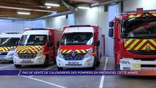 Yvelines | Pas de vente de calendriers des pompiers en présentiel cette année