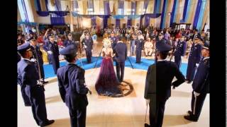 izzati dan dian wedding Pedang Pora TNI AU