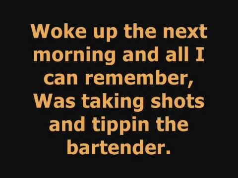 Ludacris -One More Drink- Ft.T-Pain *Lyrics*