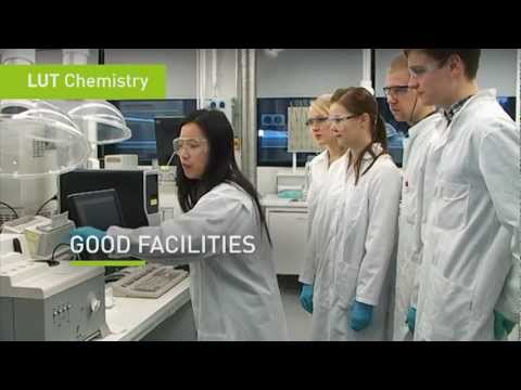 Change the world and study Chemical Engineering at Lappeenranta University of Technology