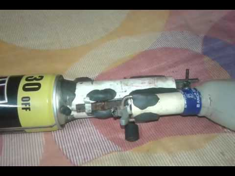 homemade pcp air rifle  mechanism