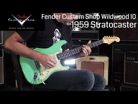 Fender Custom Shop Wildwood 10 1959 Stratocaster  •  Wildwood Guitars