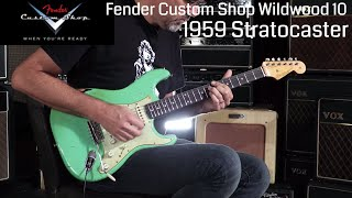 Baixar Fender Custom Shop Wildwood 10 1959 Stratocaster  •  Wildwood Guitars