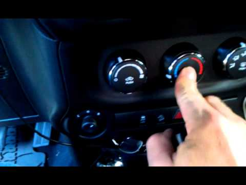 2012 Jeep Wrangler Sahara AC remote start problems  YouTube