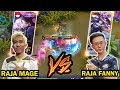 RRQ LEMON BERTEMU EVOS ZXUAN! ALICE LEMON VS FANNY ZXUAN! RAJA MAGE VS RAJA FANNY! WHO'S STRONGER?!