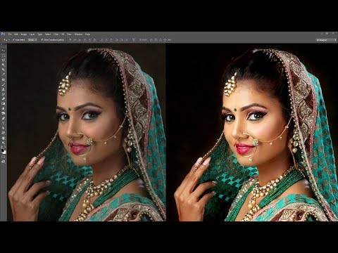 Best Photo Retouching Photoshop Tutorial In Hindi - Skin Retouching Real Technic thumbnail