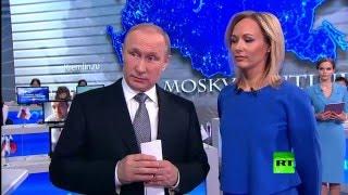 مباشر مع بوتين - عام 2016  - تسجيل كامل  - الجزء الأول