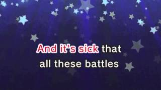 Love The Way You Lie (Karaoke and Lyric Version)