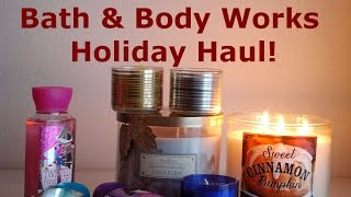 Bath & Body Works Holiday 2014 HAUL! Thumbnail