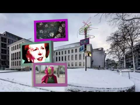 HOPE BY HA SCHULT - Installation 3 x 65 Zoll Outdoor Display