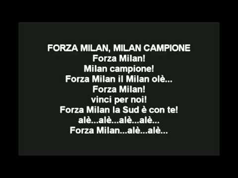 Chants Ac Milan