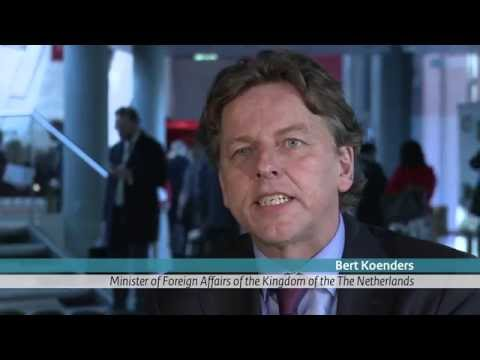 PSC2015 - Interview with Foreign Affairs Minister Bert Koenders