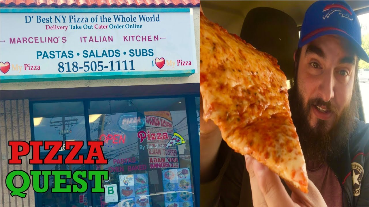 Best Ny Style Pizza Of The World Pizza Review Marcelinos Los Angeles Best Pizza In The World