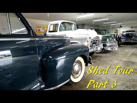 Shed Tour Part 3 - Country Classic Cars - July 2020