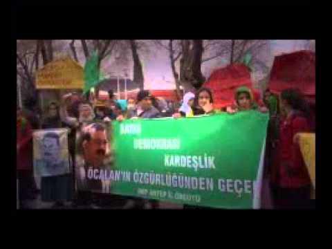 Gaziantep'te Öcalan'a özgürlük yürüyüşüne izin verilmedi | HD İZLE