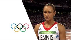 Jessica Ennis Wins Heptathlon Gold - London 2012 Olympics
