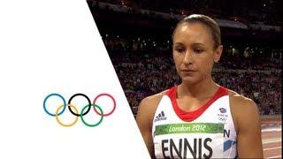 Jessica Ennis Wins Heptathlon Gold - London 2012 Olympics