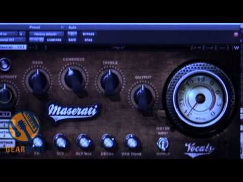 Waves Tony Maserati Collection VX1 Vocal Enhancer Supplies Instant