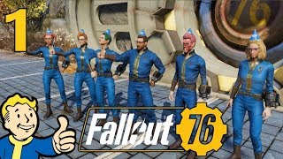 [1] Country Rogues! Let's Be Raiders!!! (Fallout 76 Raider PvP Gameplay)