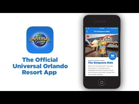 The All-New Official Universal Orlando Resort App