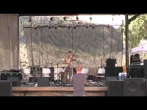 Chris Skinner playing the Chapman stick live at State Bridge, CO