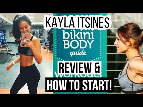 KAYLA ITSINES | BBG REVIEW | HOW TO GET STARTED | NeonRouge73