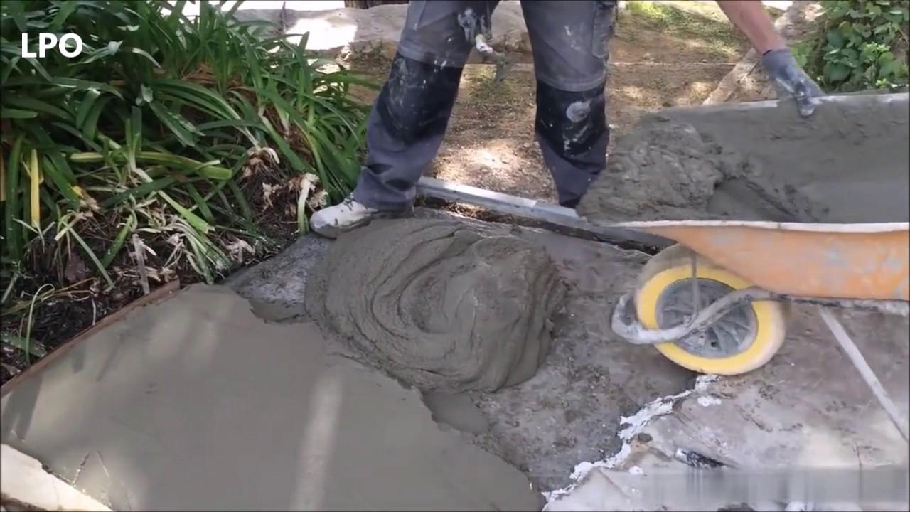 Instalaci n de piso de piedra natural youtube - Colocar piedra natural ...