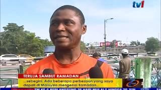 RAMADAN- PELAJAR ASING TERUJA SAMBUT RAMADAN DI MALAYSIA [6 JUN 2016]