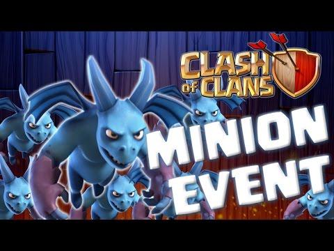 Clash Of Clans | MINION EVENT - Mass Minion Attacks!