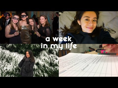 A week in my life! Biochemistry at the Uni of Bath| Noo