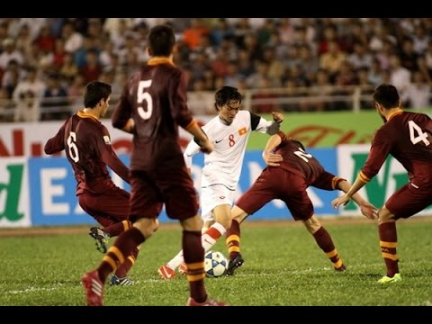 Nguyễn Tuấn Anh U19 Việt Nam Nutifood Cup- Nguyen tuan anh