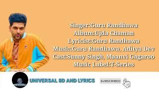 Outfit: Ujda Chaman (8d audio and lyrics) | Universal 8d audio and lyrics