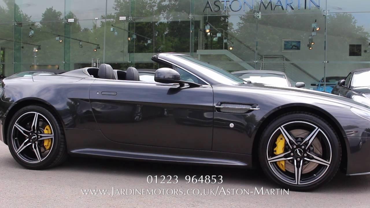 Jardine Motors Group | Aston Martin V8 Vantage S | Lancaster Aston