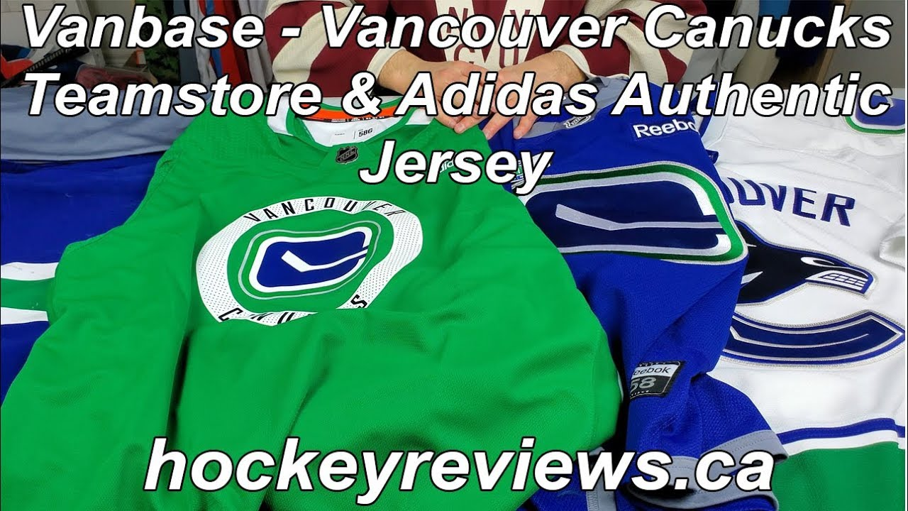 new photos d8359 5dd56 Vanbase - Vancouver Canucks Team Store & Game Worn Equipment & Jersey Source