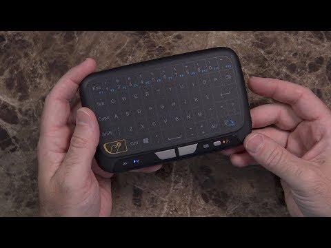 Evanpo E3 Mini Wireless Keyboard and Touchpad