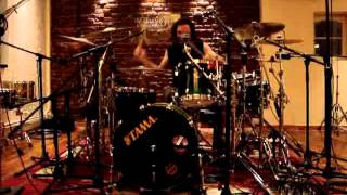 TRIDDANA -Drum´s recording Session- Ranz Bateria - When the Enemy