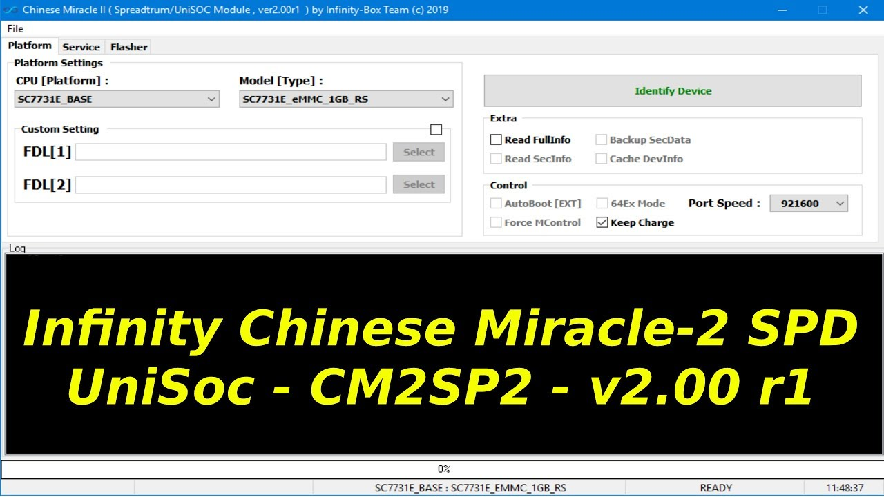 Infinity Chinese Miracle-2 SPD/UniSoc - CM2SP2 - v2 00 r1 released