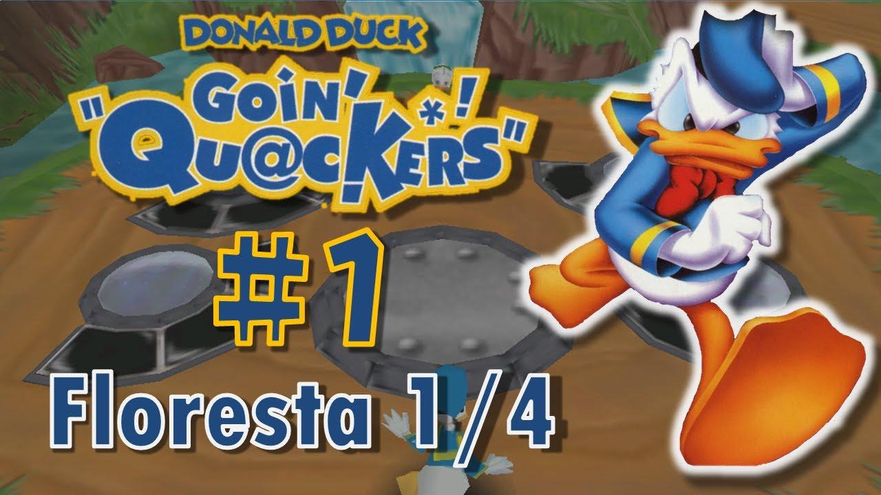 Floresta Do Mal Online pertaining to donald duck: goin' quackers! #1 | floresta 1/4 (limite da floresta