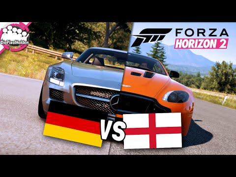 FORZA HORIZON 2 - Deutschland VS England - Spezial - Let's Play Forza Horizon 2