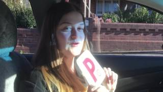 Letitia passing her driving test at Rockdale RMS