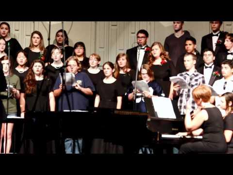 "Tomball High School Chorale sings ""Awakening"""