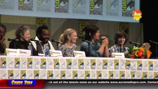 The Walking Dead Comic Con 2014 Panel (Official)