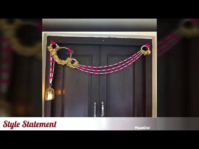 Latest Toran Bandanwar Designs for Diwali ¦ Beautiful Bandanwar Toran for Home Decor