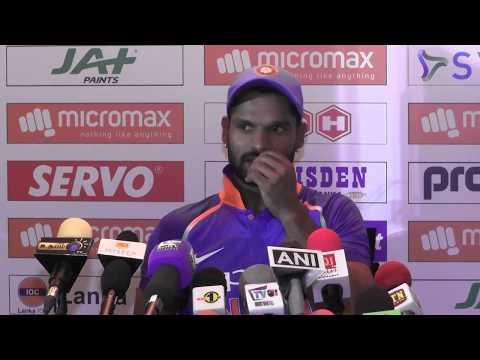 1st ODI Post Match Press Conference - India tour of Sri Lanka 2017