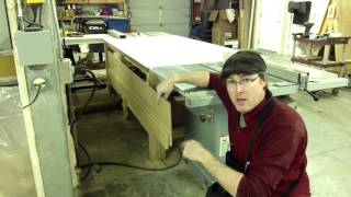 Tablesaw Rip Cut-off Tray