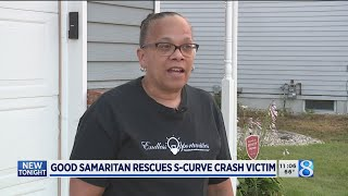 Good Samaritan rescues S-curve